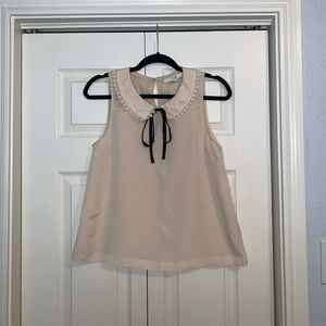 Forever 21 Peter Pan collar blouse sz S